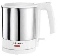 Cloer 4701 Wasserkocher (Edelstahl, Weiß)