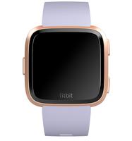 Fitbit Versa 1.34Zoll LCD GPS Rose gold Smartwatch (Violett, Rose gold)