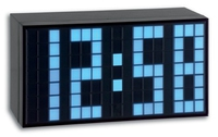 TFA 98.1082.02 Wecker (Schwarz, Blau)