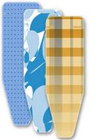 LEIFHEIT 072323 Bügeltischbezug (Blau, Orange, Weiß)