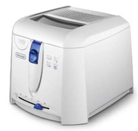 DeLonghi F 27201 Fritteuse (Weiß)