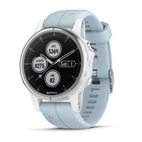 Garmin fēnix 5S Plus 1.2Zoll GPS Weiß Smartwatch (Blau, Weiß)