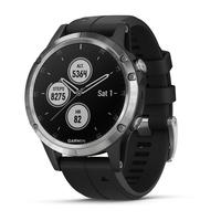 Garmin fēnix 5 Plus 1.2Zoll GPS Silber Smartwatch (Schwarz, Silber)