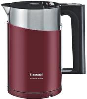 Siemens TW86104 Wasserkocher (Schwarz, Rot)