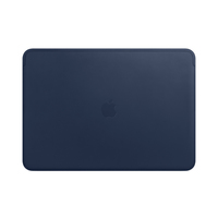 Apple MRQU2ZM/A 15Zoll Notebook-Hülle Navy Notebooktasche (Navy)