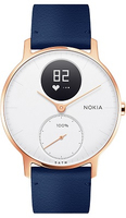 Nokia Steel HR Wristband activity tracker Kabellos Rose Gold, Weiß (Rose Gold, Weiß)