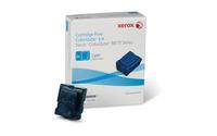 Xerox ColorQube 8870 Festtinte, Cyan (6 Sticks, 17300 Seiten)