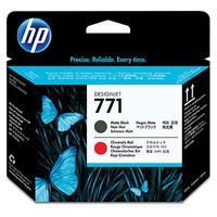HP 771 Matte Black/Chromatic Red Designjet Printhead