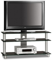 Just-Racks TV1053ALBG Flat panel Bodenhalter (Weiß)