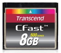 Transcend CFast Card (Schwarz)