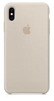 Apple MRWJ2ZM/A 6.5Zoll Hauthülle Grau Handy-Schutzhülle (Grau)