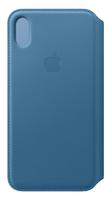 Apple MRX52ZM/A Handy-Schutzhülle 16,5 cm (6.5 Zoll) Folio Blau (Blau)
