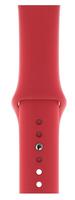Apple MU9N2ZM/A Smartwatch-Zubehör Band Rot Fluor-Elastomer (Rot)