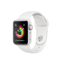 Apple Watch Series 3 38 mm OLED Silber GPS