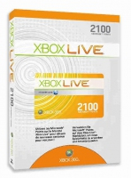 Microsoft Xbox 360 Live 2100 Points, GR