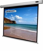 Celexon 1090071 Projektoren Leinwand (Schwarz, Weiß)