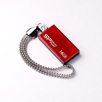 Silicon Power Touch 810 16GB USB 2.0 Rot USB-Stick (Rot)