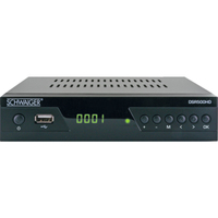Schwaiger DSR500HD TV Set-Top-Box Kabel Full HD Schwarz (Schwarz)