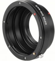 Walimex Adapter Canon to micro 4/3 (Schwarz)