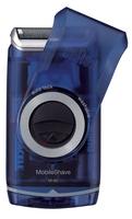 Braun MobileShave PocketGo M60 (Blau, Transparent)