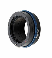 Novoflex NEX/MIN-AF Kameraobjektivadapter (Schwarz, Blau)