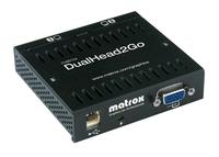 Matrox DualHead2Go Analog Edition (Schwarz)