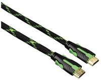 Hama 00051777 HDMI-Kabel (Schwarz, Grün)