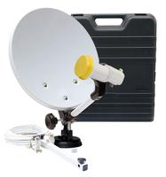 Telestar digiHD TS 4 mobil EF Satellit Schwarz, Weiß (Schwarz, Weiß)