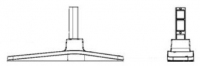 Samsung STN-L32D Flat panel Bodenhalter (Schwarz)