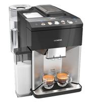 Siemens TQ507D03 Kaffeemaschine Vollautomatisch Kombi-Kaffeemaschine 1,7 l (Schwarz, Edelstahl)
