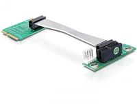 DeLOCK Mini PCI Express/PCI Express (Schwarz, Grün)