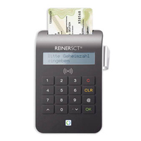 Reiner SCT cyberJack RFID komfort USB 2.0 Schwarz Smart-Card-Lesegerät (Schwarz)
