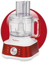Moulinex FP657G Küchenmaschine (Rot, Weiß)
