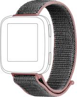 Topp 40-38-3953 Smartwatch-Zubehör Band Grau, Rose Nylon (Grau, Rose)