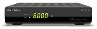 Sky Vision 500 S-HD Kabel, Satellit Full HD Schwarz (Schwarz)