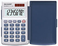 Sharp Calculator EL-243S (Silber)