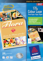 Avery Premium Colour Laser Photo Paper 170 g/m² (Weiß)