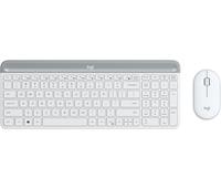Logitech MK470 Tastatur RF Wireless QWERTZ Deutsch Weiß (Weiß)