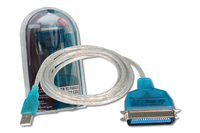 Digitus Printer Cable (Blau, Transparent)