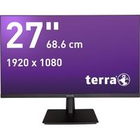 Wortmann AG TERRA 2763W GREENLINE PLUS 68,6 cm (27 Zoll) 1920 x 1080 Pixel Full HD LED Schwarz (Schwarz)
