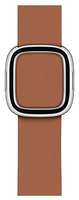Apple MWRD2ZM/A Smartwatch-Zubehör Band Braun Leder (Braun)