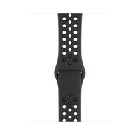 Apple MX8E2ZM/A Smartwatch-Zubehör Band Anthrazit, Schwarz Fluor-Elastomer (Anthrazit, Schwarz)