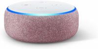 Amazon Echo Dot (3rd Gen) (Pink, Weiß)