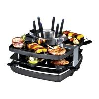 Gastroback 42559 Fondue/Gourmet/Wok (Schwarz, Edelstahl)