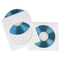Hama CD-ROM Paper sleeves 50 (Weiß)