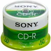 Sony CDR SPINDLE 50PK