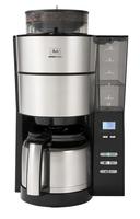 Melitta 1021-12 Filterkaffeemaschine (Schwarz, Silber)