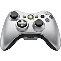 Microsoft Xbox 360 Wireless Controller (Silber)