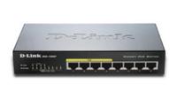 D-Link DGS-1008P Netzwerk Switch (Schwarz)