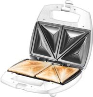 Unold 48421 Sandwichmaschine (Edelstahl, Weiß)